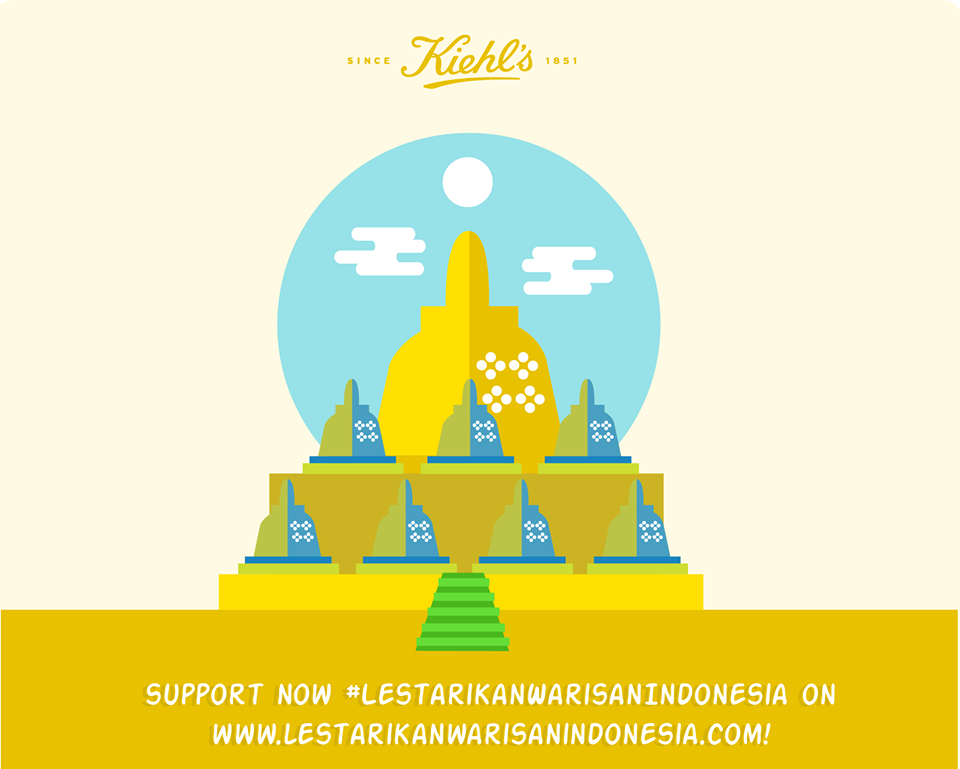 "How We ""Build"" Borobudur Temple Through Digital Channel To Support Kiehl's Integrated Campaign"